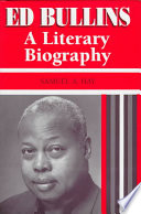 Ed Bullins : a literary biography /