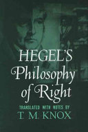 Hegel's Philosophy of right.