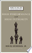 High performance with high integrity /