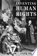 Inventing human rights : a history /