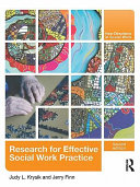 Research for effective social work practice /
