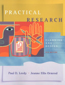 Practical research : planning and design.
