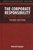 The corporate responsibility code book /