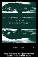 Management development through cultural diversity /