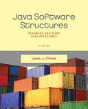 Java software structures : designing and using data structures /