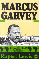 Marcus Garvey : anti-colonial champion /
