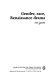 Gender, race, Renaissance drama /
