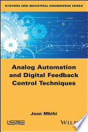 Analog automation and digital feedback control techniques /