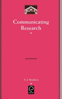 Communicating research /