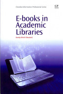 E-books in academic libraries /