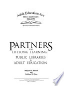 Partners for lifelong learning : public libraries & adult education /