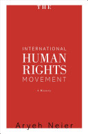 The international human rights movement : a history /