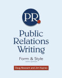 Public relations writing : form and style /