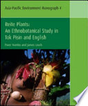 Reite plants : an ethnobotanical study in Tok Pisin and English /
