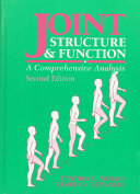 Joint structure & function : a comprehensive analysis /