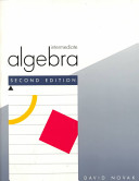 Intermediate algebra /