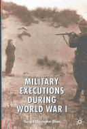 Military executions during World War I /