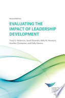 Evaluating the impact of leadership development /