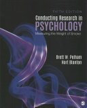 Conducting research in psychology : measuring the weight of smoke /