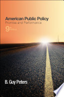 American public policy : promise and performance /