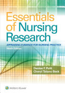 Essentials of nursing research : appraising evidence for nursing practice /