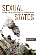 Sexual states : governance and the struggle over the antisodomy law in India /