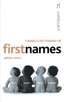 Dictionary of first names /