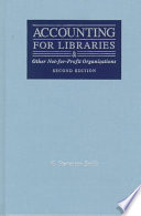 Accounting for libraries and other not-for-profit organizations /