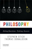 Philosophy : asking questions--seeking answers /