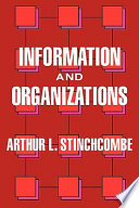 Information and organizations /