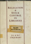 Relegation and stock control in libraries /