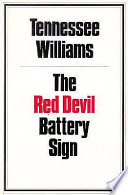 The red devil battery sign /